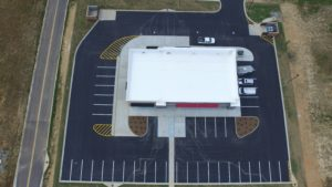 verizon store aerial view