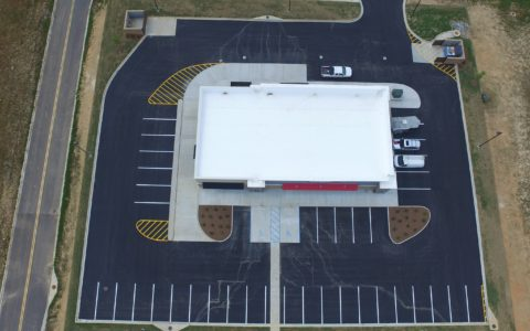 verizon store aerial view
